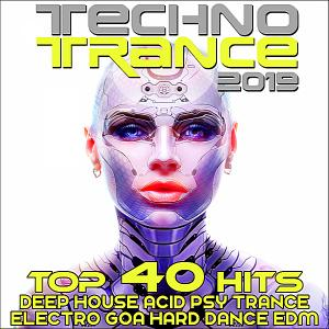 VA - Techno Trance 2019: Top 40 Hits EDM (2018)