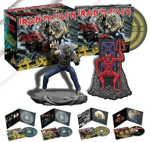 Iron Maiden - The Studio Collection (4 CD 1980-1983 Remastered) (lossless, 2018)