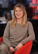 Ellen Pompeo Visits etalk studios in Toronto -- Oct. 7, 2010