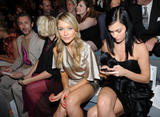 Katrina Bowden & Maggie Grace & Leigh Lezark @ Christian Siriano Fashion Show in NYC | September 9 | 10 leggy pics