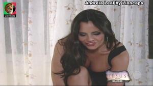Andrea Leal sensual na novela Luz do Sol