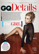 Maggie Grace - British GQ March 2012