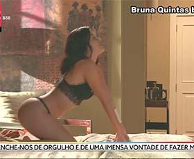 Bruna Quintas super sensual na novela Valor da Vida