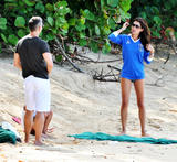 Danielle Lineker | Bikini Candids on the Beach in Barbados | December 16 | 17 pics