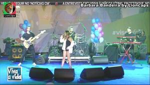 Barbara Bandeira sensual