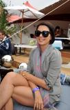 Sadie Frost @ Barclaycard unwind VIP Pod at Wireless Festival in London | July 3 | 5 leggy pics