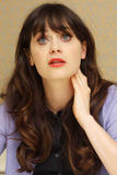 Zooey Deschanel - 'New Girl' Press Conference in Beverly Hills - Oct 10, 2012 (x16)