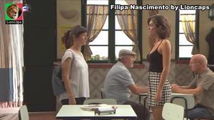 Filipa Nascimento super sensual na novela Terra Brava