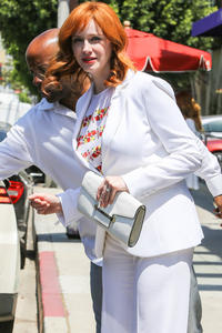 Christina Hendricks Out in Beverly Hills 06-27-2014