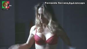 Fernanda Serrano super sensual na serie Amar depois Amar