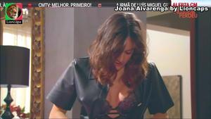 Joana Alvarenga sensual na novela Alguem Perdeu