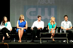 Бритт Робертсон, фото 138. Britt Robertson 2011 Summer TCA - The Secret Circle panel in Beverly Hills - August 4 2011, foto 138